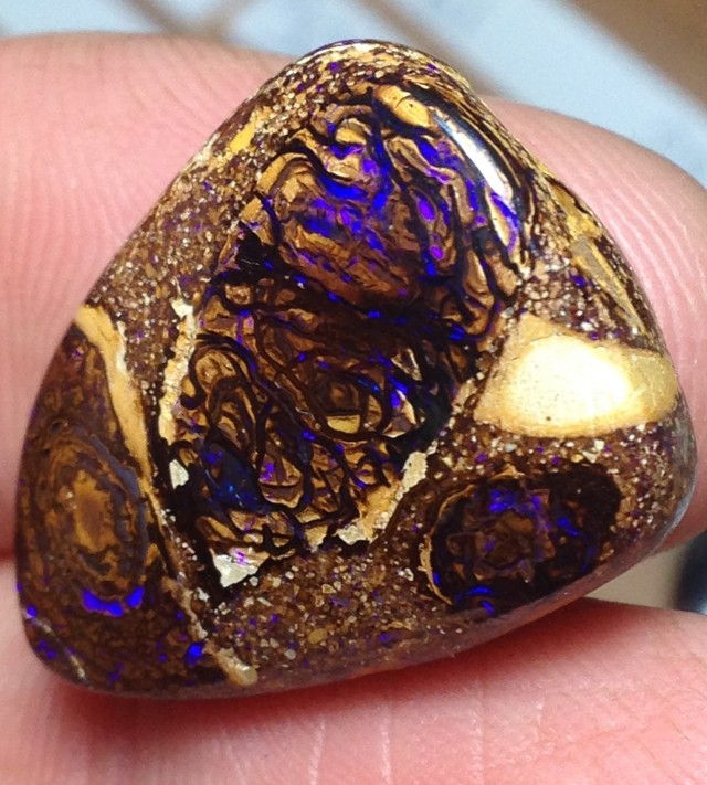 BARGAIN BUY IT NOW Boulder Opal Picture Stone AC109 26.5cts