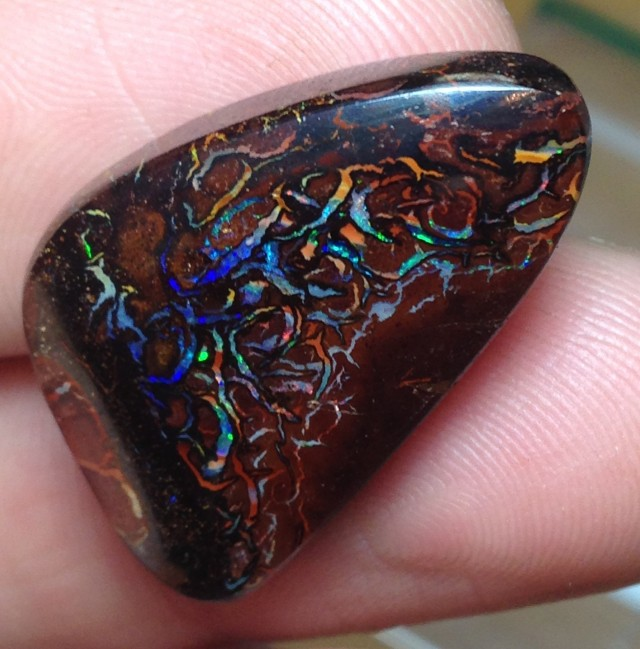 BARGAIN BUY IT NOW Boulder Opal Picture Stone AC58 38.5cts