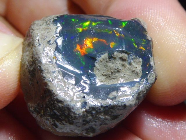 46.90ct Rough Opal Specimen Ethiopian Estayish Mine