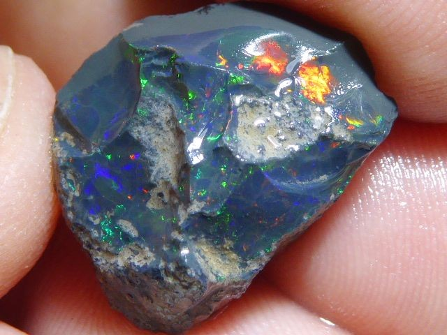 12.6ct. Rough Opal Specimen Ethiopian Estayish Mine