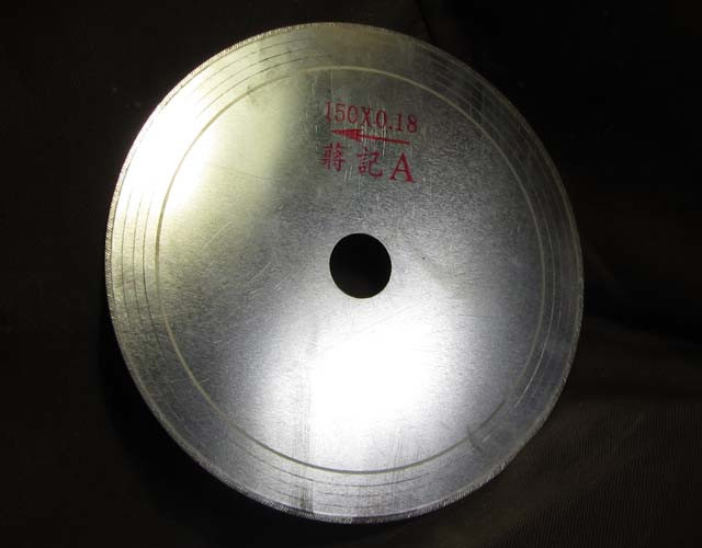 6 INCH SAW BLADE  0.18 THICKNESS THREE IN THIS WIN