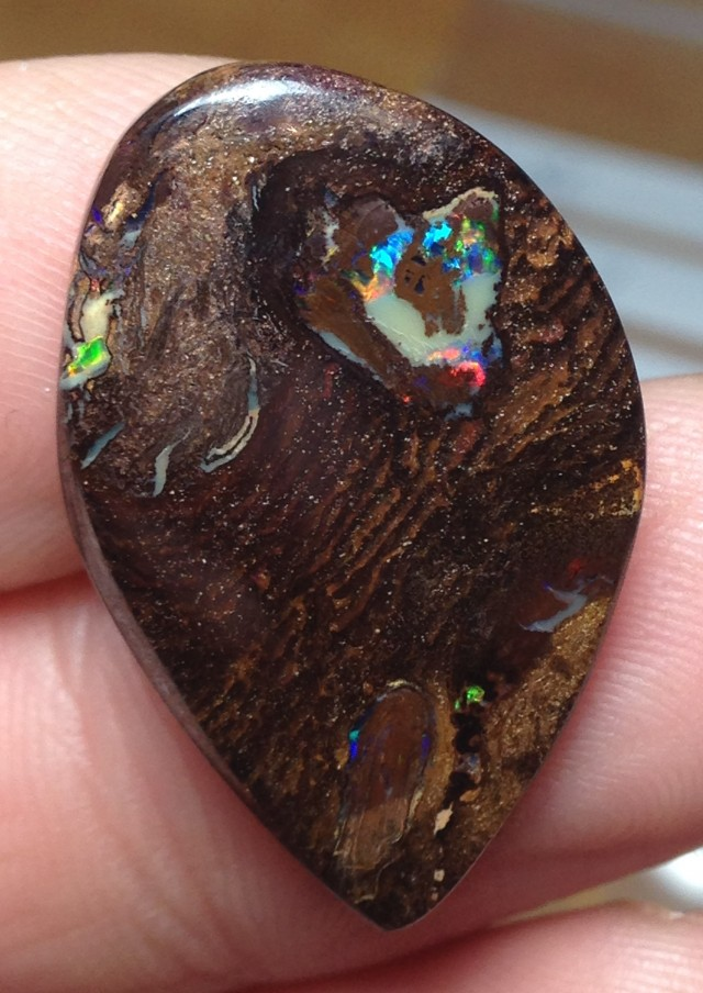 BARGAIN BUY IT NOW Boulder Opal Picture Stone AC171 22cts