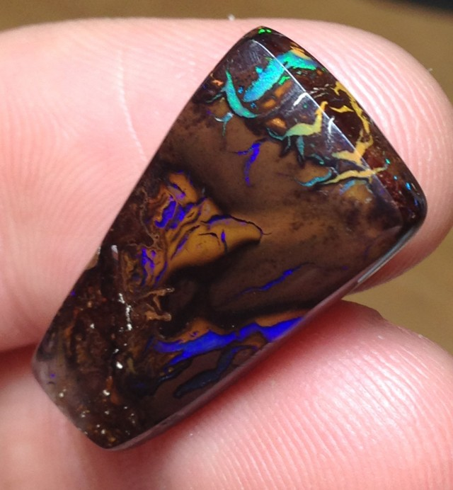BARGAIN BUY IT NOW Boulder Opal Picture Stone AC194 19cts