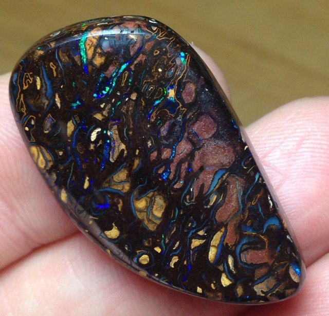 BARGAIN BUY IT NOW Boulder Opal Picture Stone AC197 57.5cts