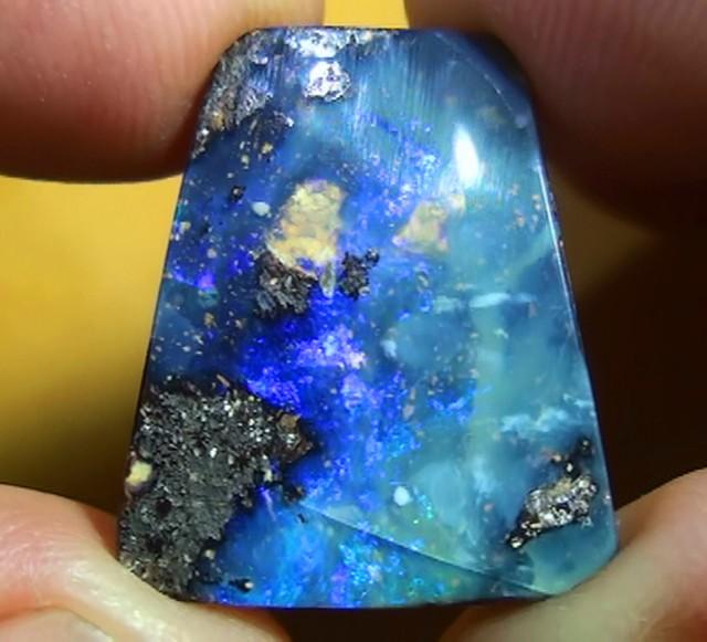 12.20 ct Blue Natural Queensland Boulder Opal
