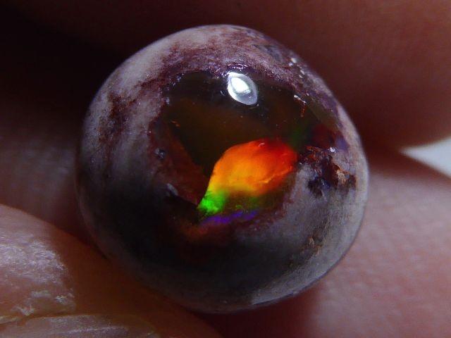 3ct Mexican Matrix Opal Landscape Cantera