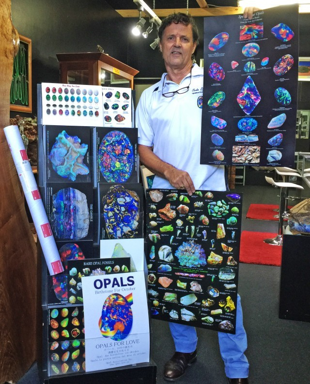 EIGHT STUNNING OPAL POSTERS FOR COLLECTORS/RETAILERS