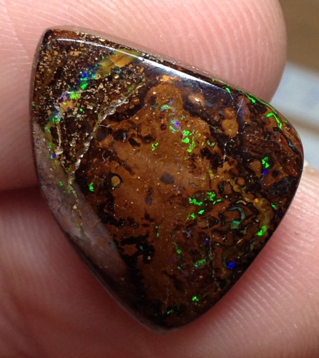 AC257 16.5cts Koroit Boulder Opal Picture Stone