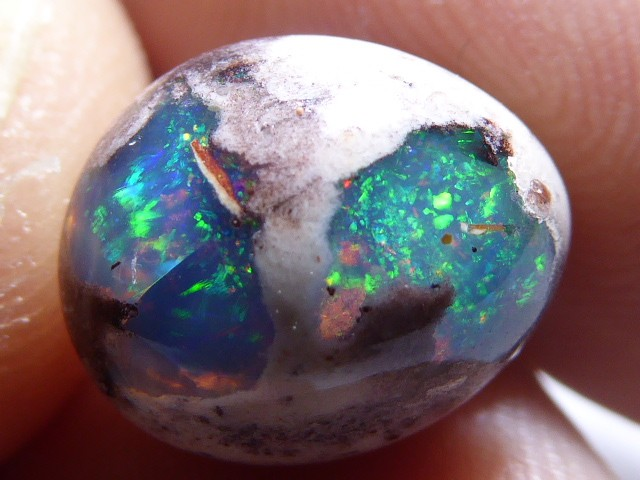 Mexican Matrix Opal Landscape Cantera Wire Wrap Ready