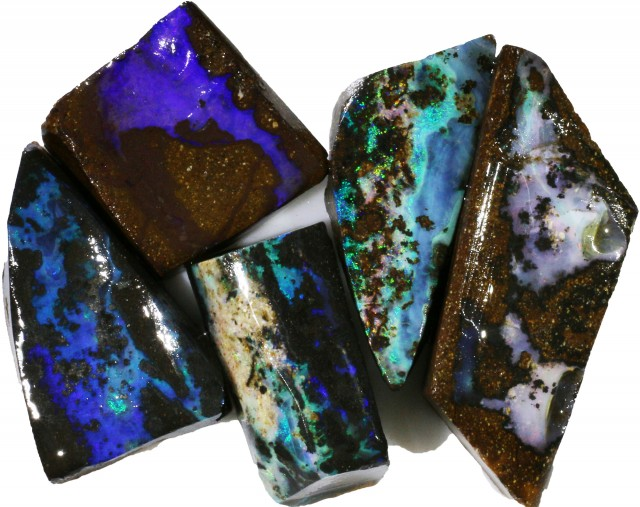 204.75 CTS BOULDER OPAL ROUGH  PARCEL - [BY4696]