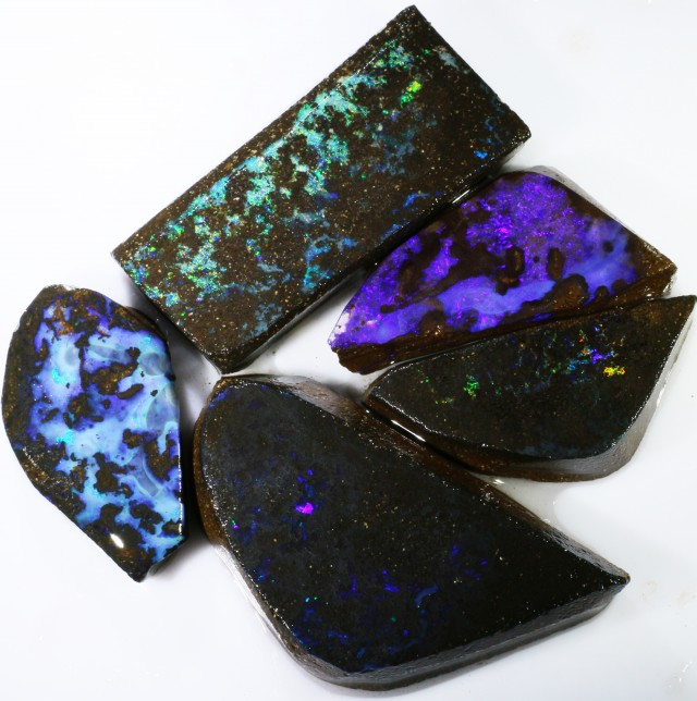 197.95 CTS BOULDER OPAL ROUGH  PARCEL - [BY4701]