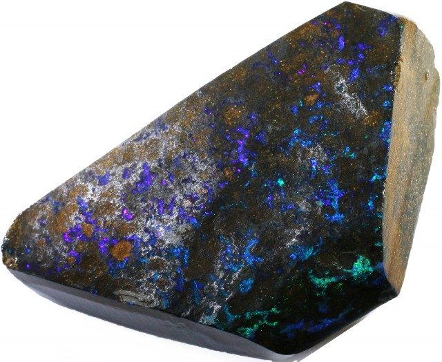 324.80 CTS BOULDER OPAL ROUGH  STONE- [BY4740]