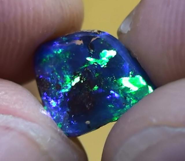 1.20 ct Top Quality Gem Blue Green Natural Queensland Boulder Opal