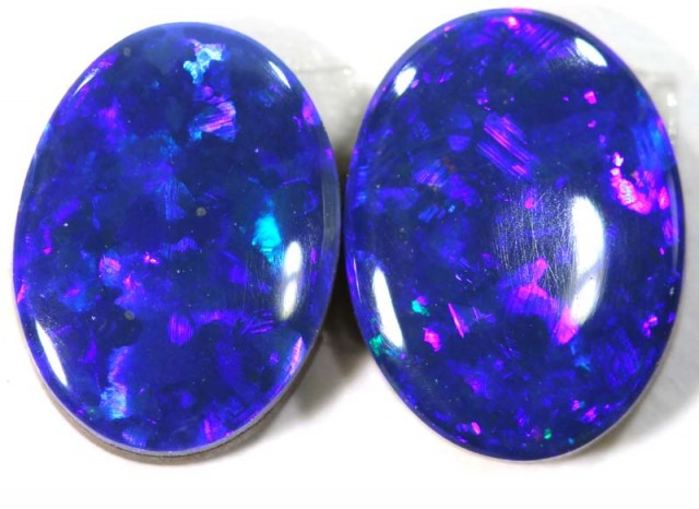 1.66CTS BEAUTIFUL DOUBLET OPAL PAIR   LO-3992