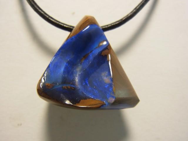 54 ct solid boulder opal