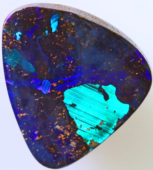 9.37 CTS NEON BRIGHT  BOULDER OPAL  [Q2404]