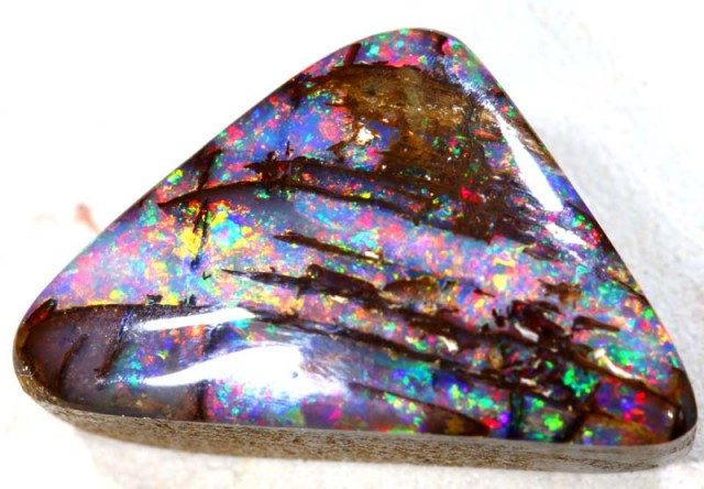 12 CTS OPALISED BOULDER OPAL POLISHED STONE  CTS  INV-317