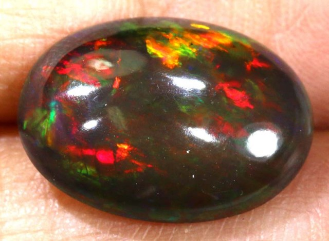 3.50 CTS ETHIOPIAN SMOKED CAB STONE FOB-789