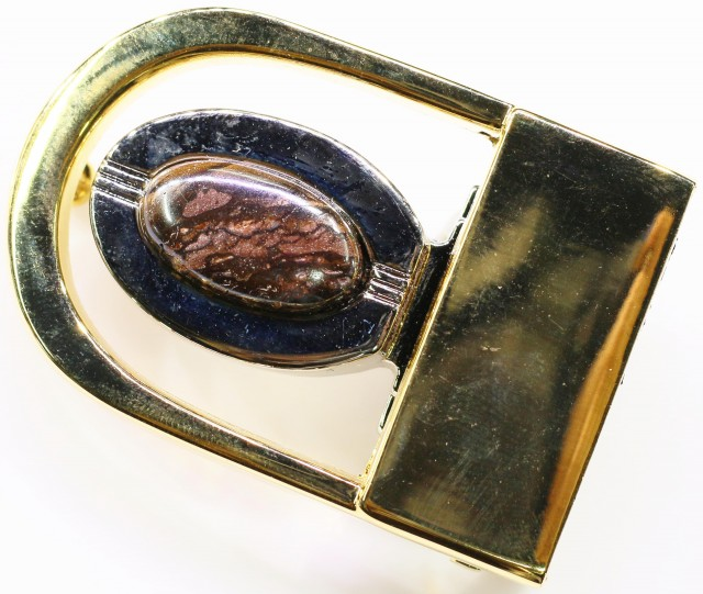 Koroit Opal Belt Buckle  Bu 2438