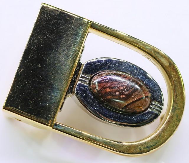 Koroit Opal Belt Buckle  Bu 2439