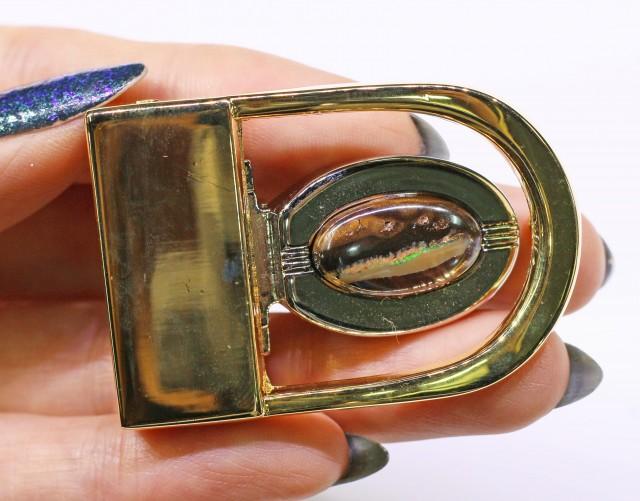 Koroit Opal Belt Buckle  Bu 2441
