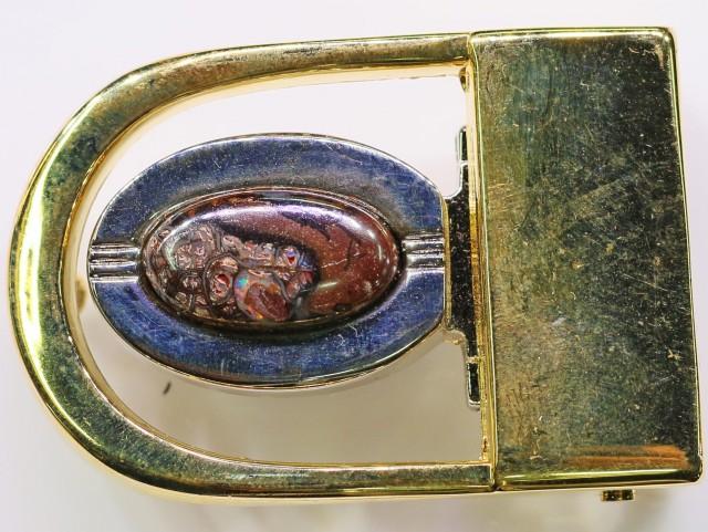 Koroit Opal Belt Buckle  Bu 2442