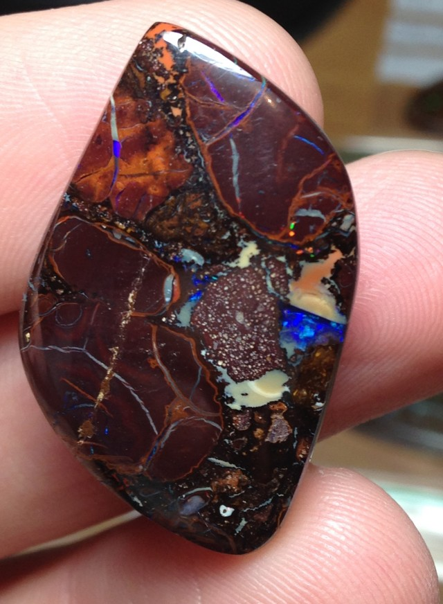 54.5cts Koroit Boulder Opal Picture Stone AC343