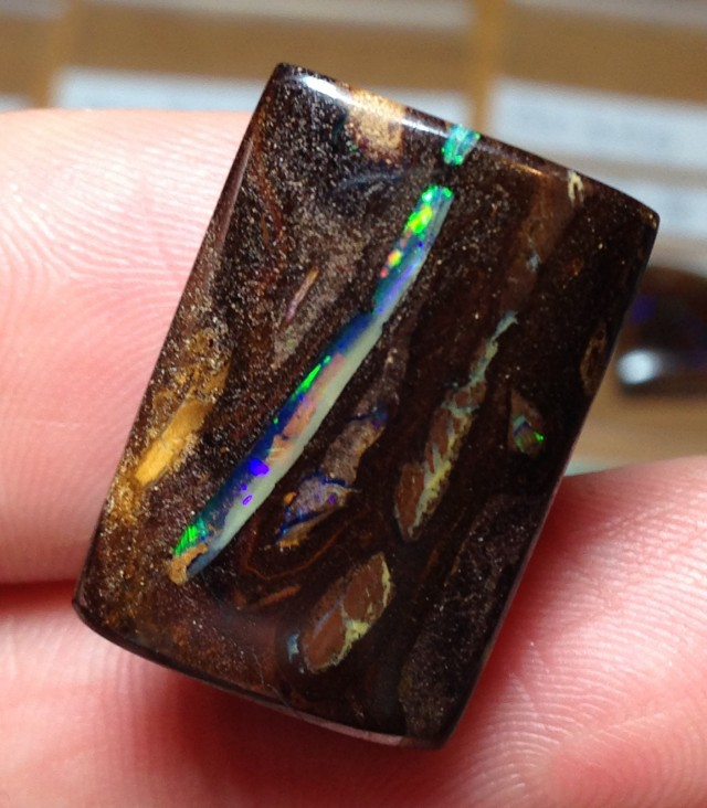 25.5cts Koroit Boulder Opal Picture Stone AC370