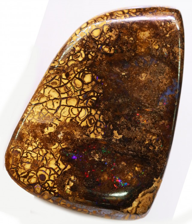 116.55 cts Well polished Koroit Boulder opal BU2470