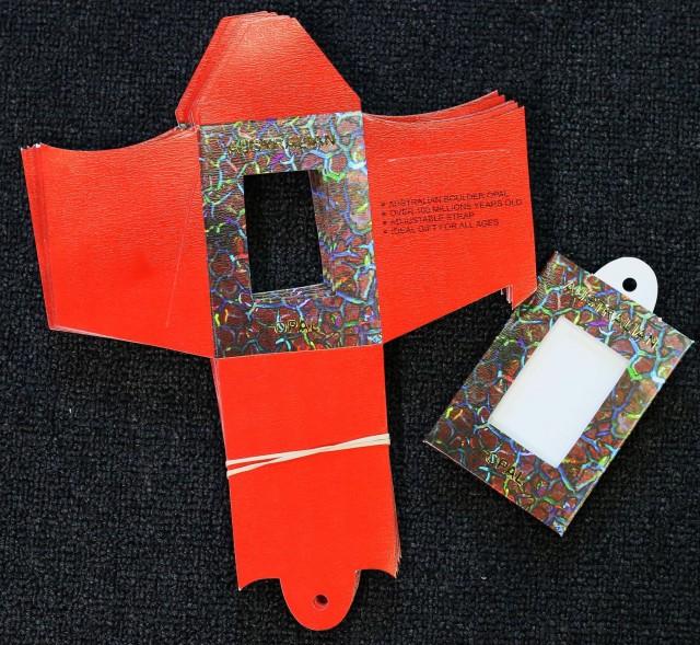 20 display cards for boulder opal pendants