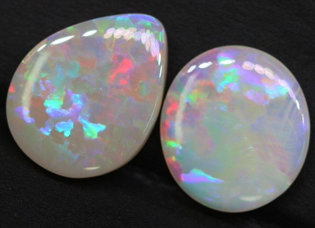3.05 Cts Nice Lightning Ridge commercial opals BU2526