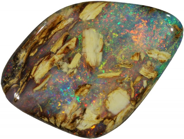 34.20 CTS BOULDER WOOD FOSSIL-WINTON [Q BY4896 ]SH