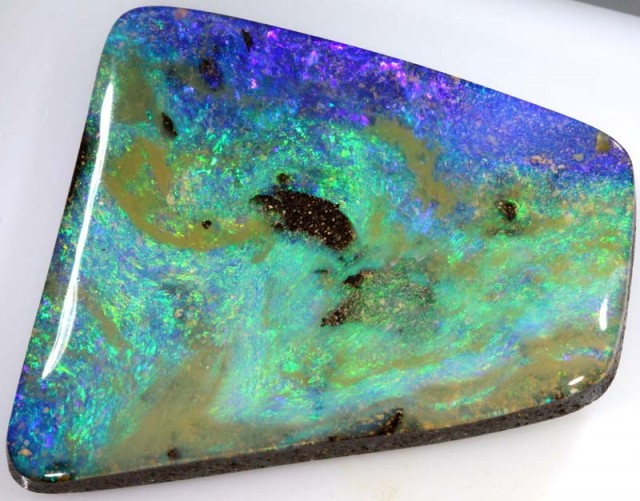 67.05 CTS QUALITY  BOULDER OPAL POLISHED STONE INV-320  GC