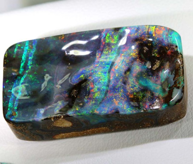 50.35 CTS QUALITY  BOULDER OPAL POLISHED STONE INV-326  GC