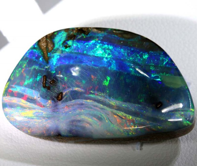 36.50 CTS QUALITY  BOULDER OPAL POLISHED STONE INV-327  GC