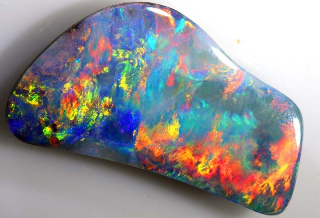 20 CTS QUALITY  BOULDER OPAL POLISHED STONE INV- TD-3  GC