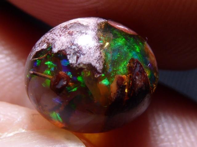 Mexican Matrix Opal Landscape Cantera