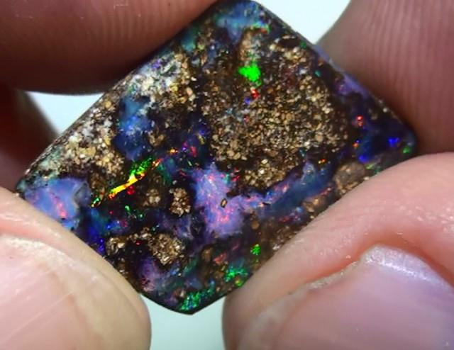 9.70 ct Boulder Opal With Gem Multi Color