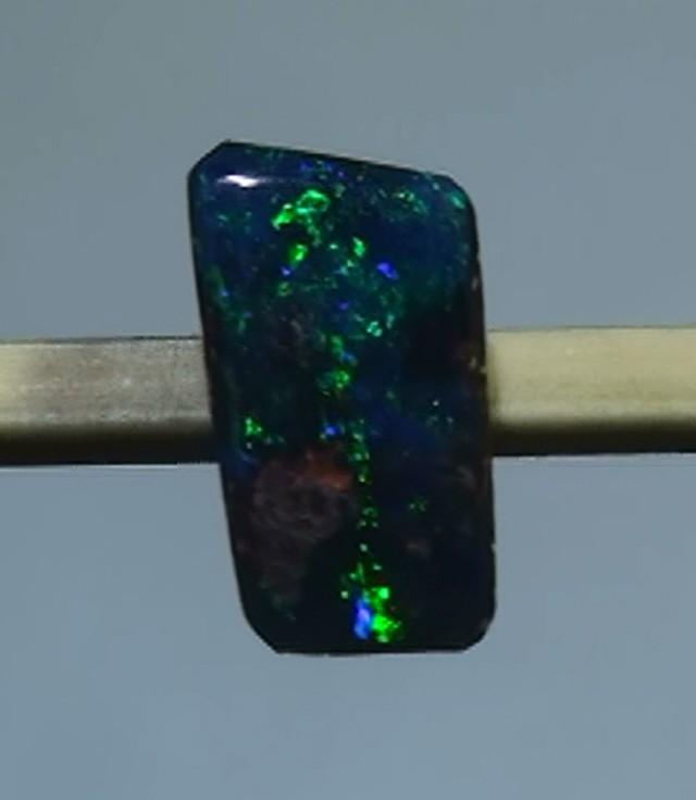 1.15 ct Boulder Opal Natural Gem Blue Green