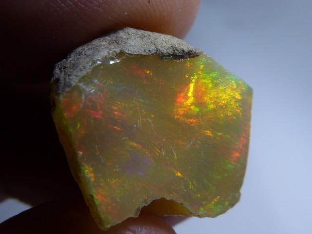 17.6ct Quality Rough Ethiopian Wello Opal Specimen