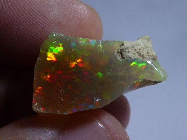 23.60ctS. Quality Rough Ethiopian Wello Opal Specimen
