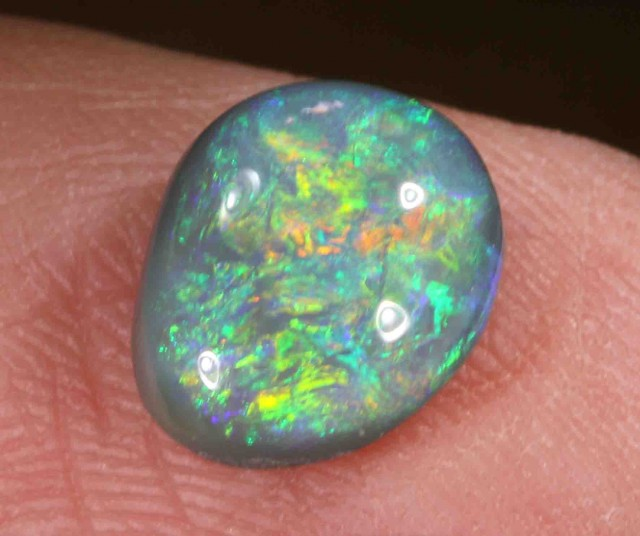 2.60 CTS  BLACK OPAL FROM LR -  606668