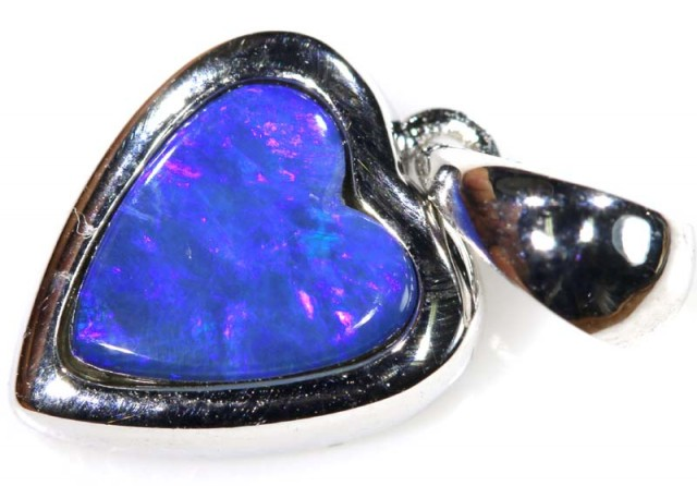10.10 CTS SILVER DOUBLET OPAL PENDANT OF-1672