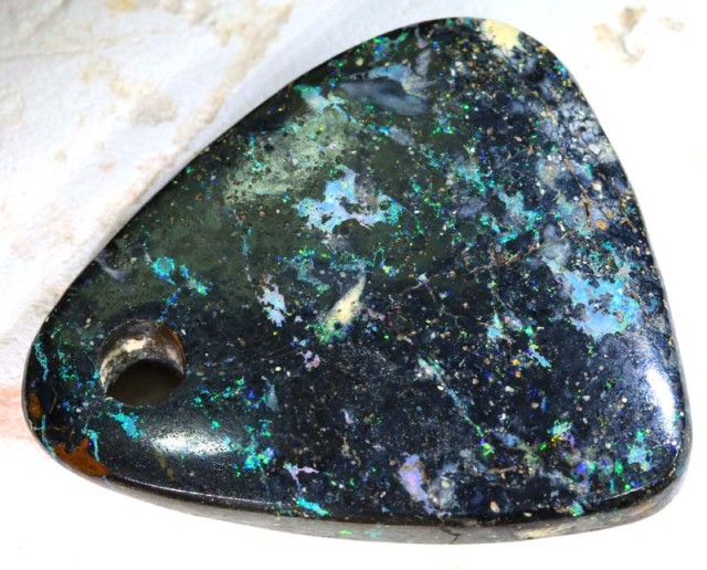 59.6CTS KOROIT OPAL STONE  DRILLED NC-4450