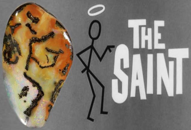 "26.2 Cts ""The Saint"" Boulder Opal PPP 467"
