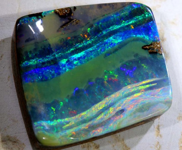 42CTS QUALITY  BOULDER OPAL POLISHED STONE INV- 366 GC