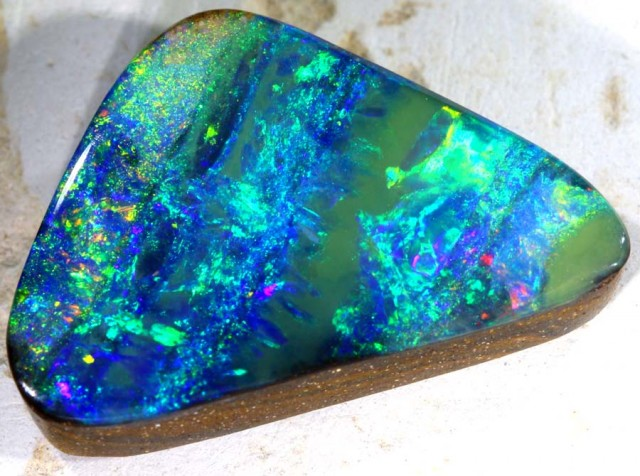 16.68CTS QUALITY  BOULDER OPAL POLISHED STONE INV- 372GC
