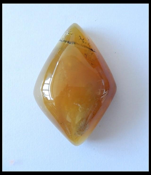 148.1Ct Natural Yellow Opal Gemstone Cabochon