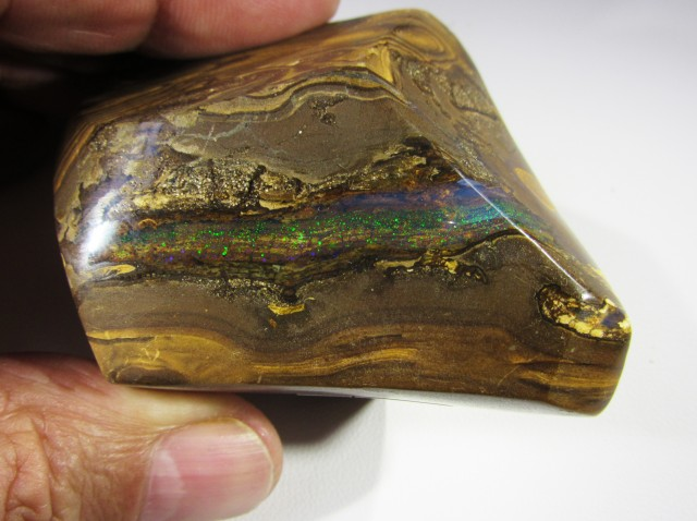 1000 Cts 8 sided  boulder Opal  specimen ex Bertas Opal collection PPP 528