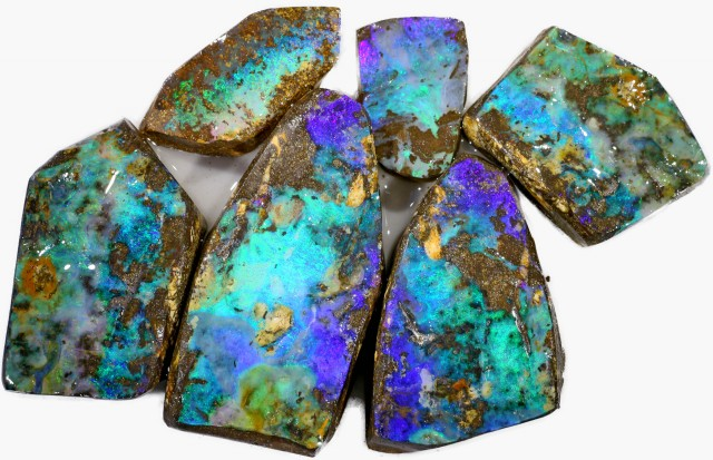815 CTS LARGE BOULDER OPAL ROUGH PARCEL- [BY7303]
